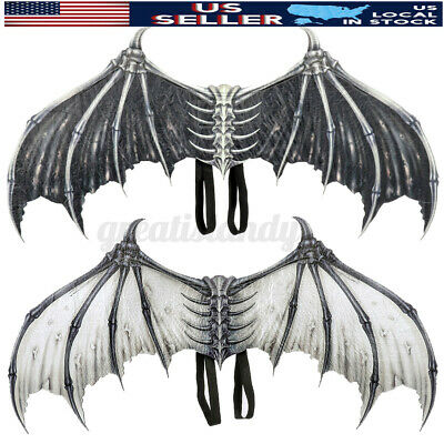 Halloween Cosplay Wings Demon Bone Mardi Gras Costume Clothes Dress Props Party