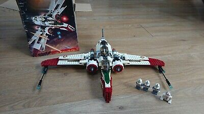 LEGO Star Wars ARC-170 Fighter (7259) COMPLETE WITH MINIFIGURES