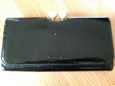 Ted Baker Black Patent leather purse
