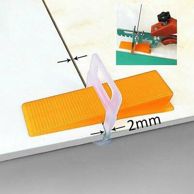 Tile Leveling Spacer System 2mm Clips Floor Level Tools Alignment Leveler Spacer 7 99 Picclick Uk