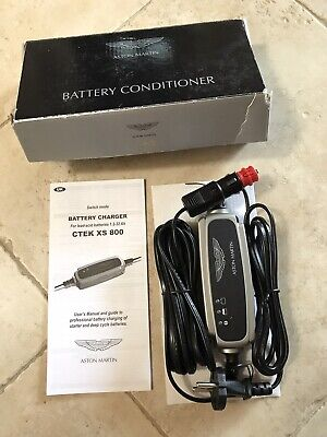 BNIB Genuine Aston Martin Battery Charger/Conditioner/Trickle Charger  Euro Plug