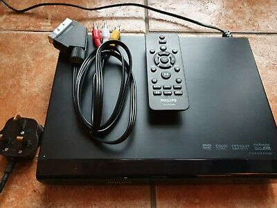 Used Philips DVP2800 DVD Player With Remote Control & Scart Lead. In VGC.