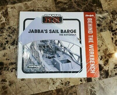 Jabba's Sail Barge The Khetanna STAR WARS The Vintage Collection Book Workbench