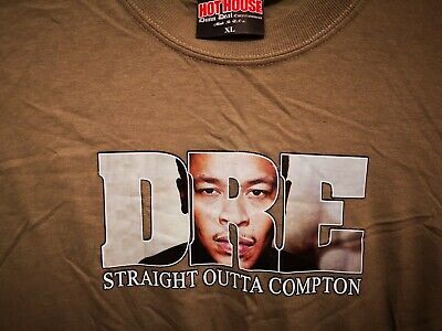 * DRE - DR DRE * 1990's vintage rare hip-hop t-shirt (XL) Gangsta Rap NEW