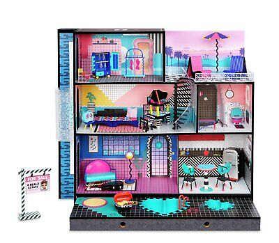 LOL Surprise OMG House–Real Wood Doll House with Surprises