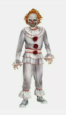 Twisted Clown Pennywise IT Halloween Costume Boys Small 4 5 6 S Child