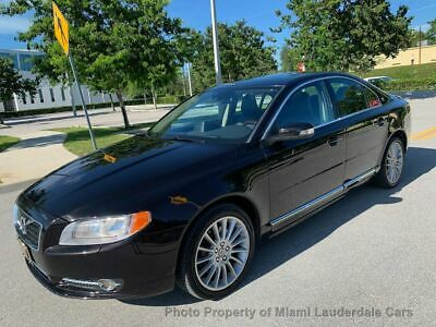 2010 Volvo S80 T6 Turbo AWD Garage Kept Clean Carfax Dealer Maintained Fully Loaded Navigation Dynaudio AWD