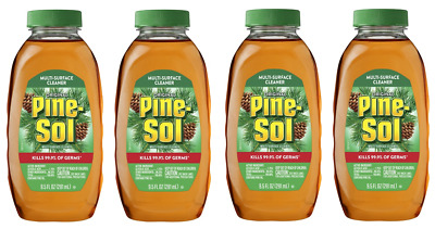 4 Pack Pine-Sol Concentrate Multi-Surface Cleaner Makes 20 Gallons FREE SHIPPING
