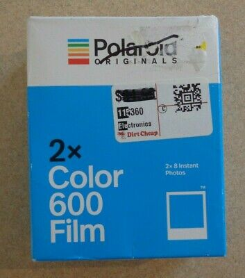 Polaroid Originals 4841 Color Glossy Instant Film for 600 Cameras (16 Exposures)