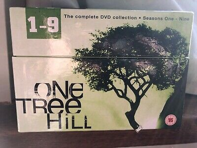 One Tree Hill - Series 1-9 - Complete (DVD, 2012, 50-Disc Set, Box Set) USED