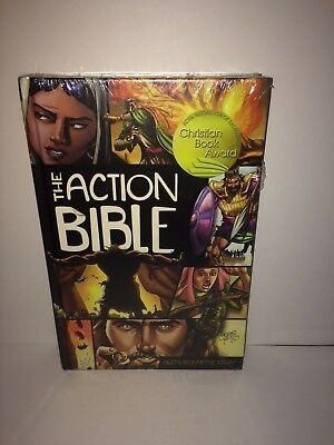 The Action Bible (New Hardcover) by Doug Mauss Sergio Cariello David Cook SEALED