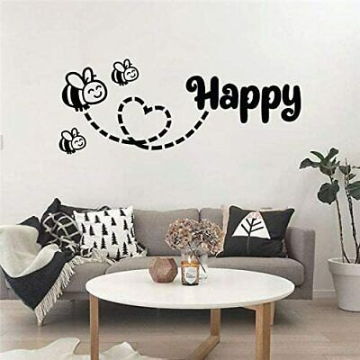 """3"""" Retro Style Do Your Thing Be Happy Life Quote Motivation Vinyl Cool Sticker"""