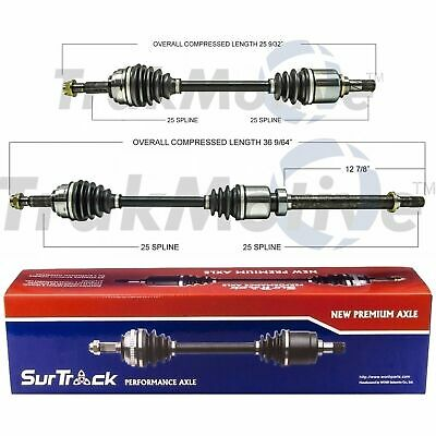 CV Axle Shaft Front Right SurTrack NI-8222 fits 07-12 Nissan Sentra