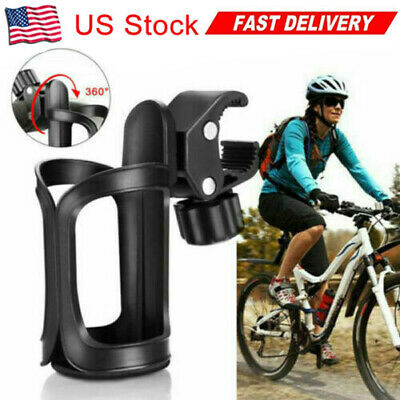 WELLSTRONG 360 Degrees Rotation Water Bottle Holder for Bike /&Electric Scooter Anti-Slip Fast Dismounting Accessories Cup Drink Holder