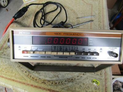BK PRECISION 1820 UNIVERSAL FREQUENCY COUNTER IN BOX
