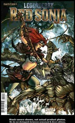 Legenderry Red Sonja #3A FN 2015 Stock Image