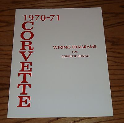 1953 1962 Chevrolet Corvette Wiring Diagram Manual For Complete Chassis Chevy 9 00 Picclick