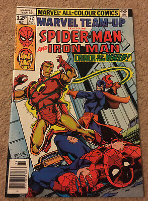 Marvel Team-Up Comic Book #134 Spider-Man and Jack of Hearts 1983 VFN//NEAR MINT