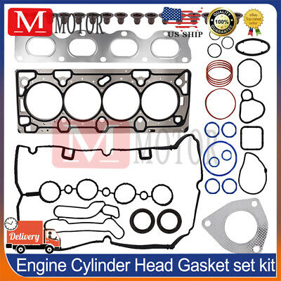 H Cylinder Head Bolts for 08-15 Chevrolet Saturn Cruze Sonic 1.8L DOHC VIN 1
