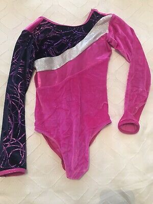 Size 2 Tappers and Pointers Black Lycra Angela Leotard BNWT age 6//7