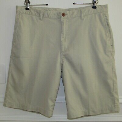 Tommy Bahama Bedford /& Sons Shorts Men 30 Khaki Sands Stretch Flat Front NWT $98