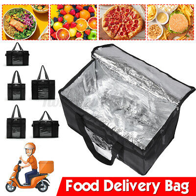 Hot Food Pizza Takeaway Restaurant Delivery Bag Thermal Insulated Storage Bag UK