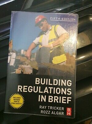 Building Regulations in Brief By Ray Tricker (MSc  IEng  FIET   .9780750684446