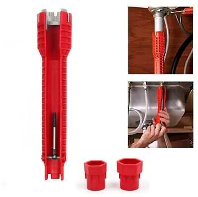 Multifunction Faucet and Sink Installer Wrench Plumbing Tool Water Pipe Span