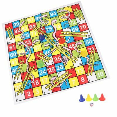 1 with game and 1 Free Ludo /& Snakes N Ladders Board Game with 2 sets of tokens