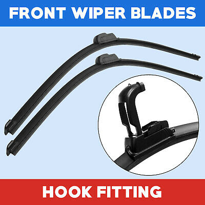 Flat Aero Replacement Driver Passangers Pair of Windscreen wiper blades 22//19 L200 2005on