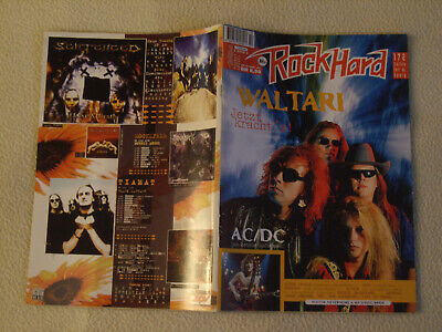 ROCK HARD Nr. 101 - 1995 AC DC Böhse Onkelz Nevermore My Dying Bride + Poster