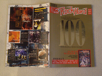 ROCK HARD Nr. 100 - 1995 Ramones Dismember Kyuss Thin Lizzy Savatage + Rock Fart