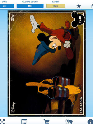 Topps Disney Collect Winnie The Pooh March VIP Card