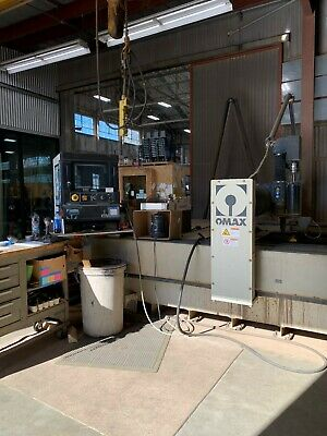 OMAX 80160 WATERJET MACHINING CENTER with A JET- New 2012