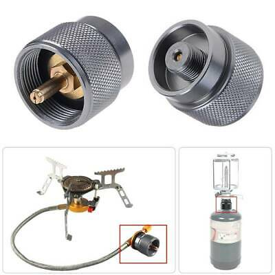 LPG Adapter Camping Stove Small Propane Tank Input Lindal Durable ve NEW W9H6