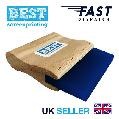 FREE DELIVERY 9.5″ Aluminium 65d A4 BEST Pro Screen Print Squeegee 24cm