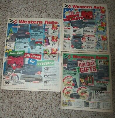 VINTAGE WESTERN AUTO FALL WINTER CHRISTMAS CATALOG WISH BOOK 1974 ESTATE FIND