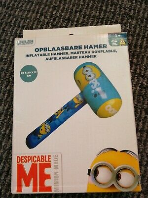 Despicable ME Mininons Inflatable Hammer 50cm Play Toy Kids Party Bag Fillers