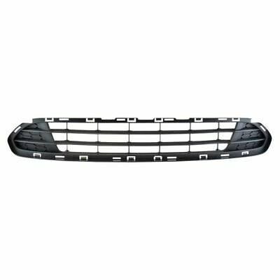 Front Bumper Mounted Grille Assembly Dark Matte Gray for Ford Fusion New