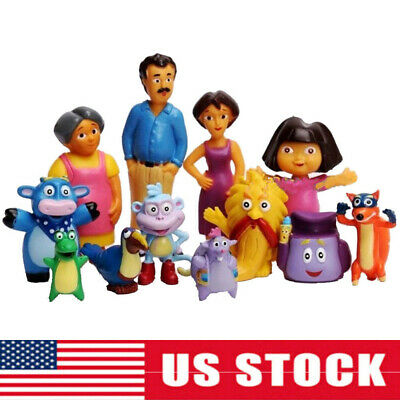 Cocomelon Family /& Friends 12 PCS Action Figure Toy Kids Xmas Gift Cake Topper
