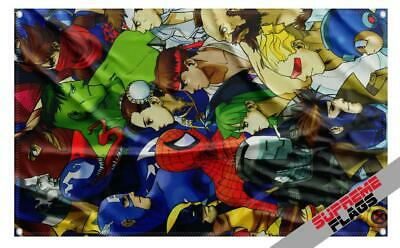 Streets of Rage Flag Arcade Decor Capcom Gaming Room NYC WTC Axel Banner 5X3 FT