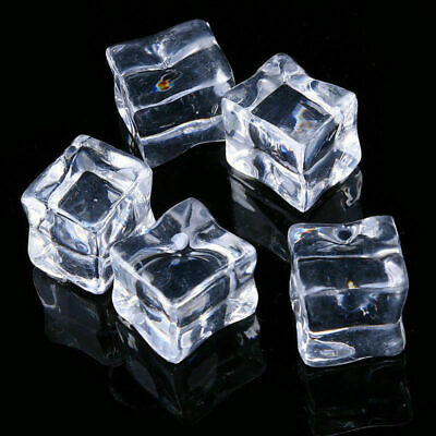 Square crystal clear acrylic /& chrome blind cord pull Glass like blind end 4cm