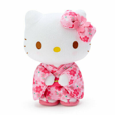 Hello Kitty Japanese Red Kimono Dancing Talking Plush Doll Limited Gift for Girl