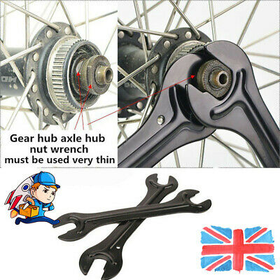 Bike Pedal Three-In-One Long Arm Hand Repair Spanner Wrench Heavy Duty Tool ONE