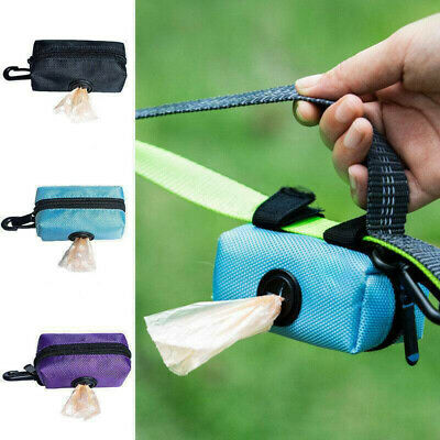Pet Dispenser Waste Dog Poo Puppy Pick-Up Bag Travel Poop Bag Holder Hook Useful