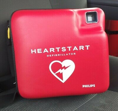 Philips Heartstart AED with new Battery, new Pad  & Carry Case