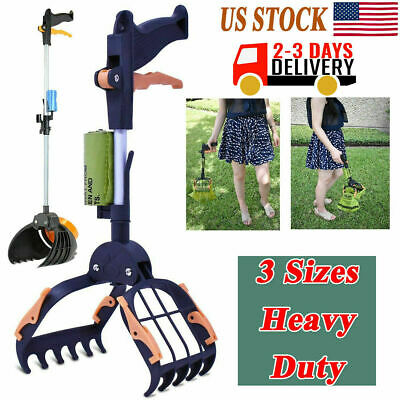 """Dog Pooper Scooper Large for Pets and Cats Heavy Duty 15"""" HOT"""