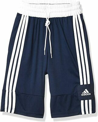 adidas Mens 3G Speed X Shorts Collegiate Navy/White M ( stain on front)