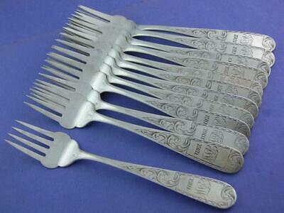 Mayflower by Kirk Sterling Silver Cold Meat Fork 8 58