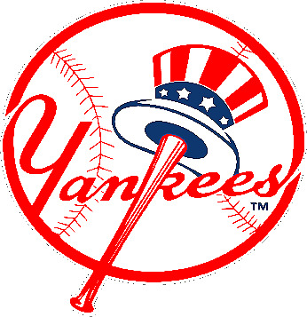 New York Yankees corn hole set of 2 decals Free shipping Made in USA #